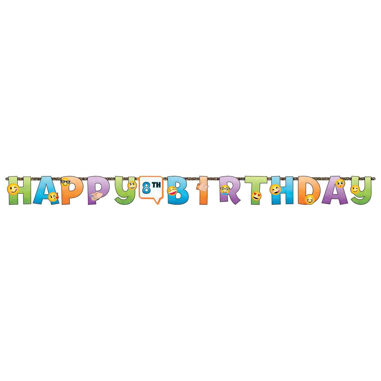 LOL Happy Birthday Jointed Add-An-Age Cardboard Jumbo Banner