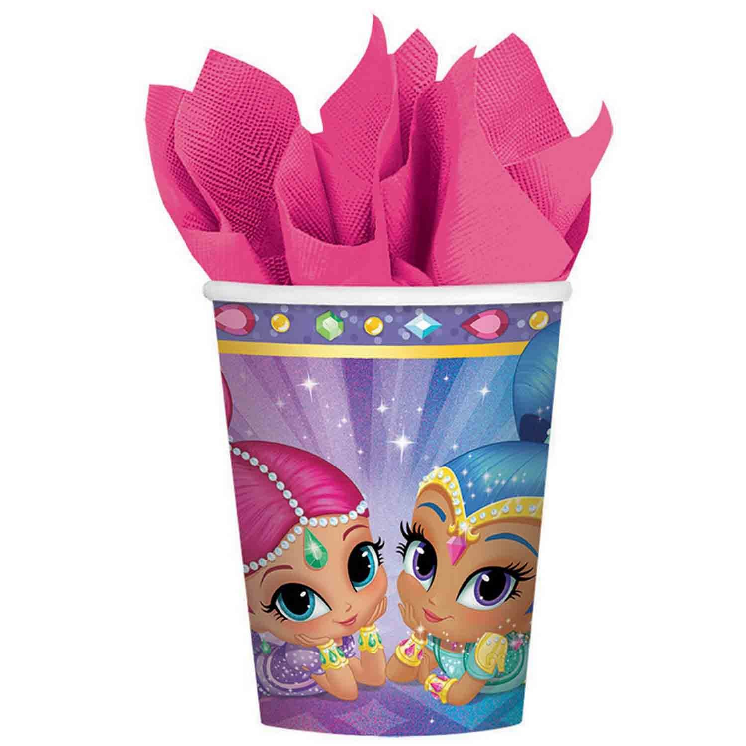 Shimmer and Shine 266ml Cups