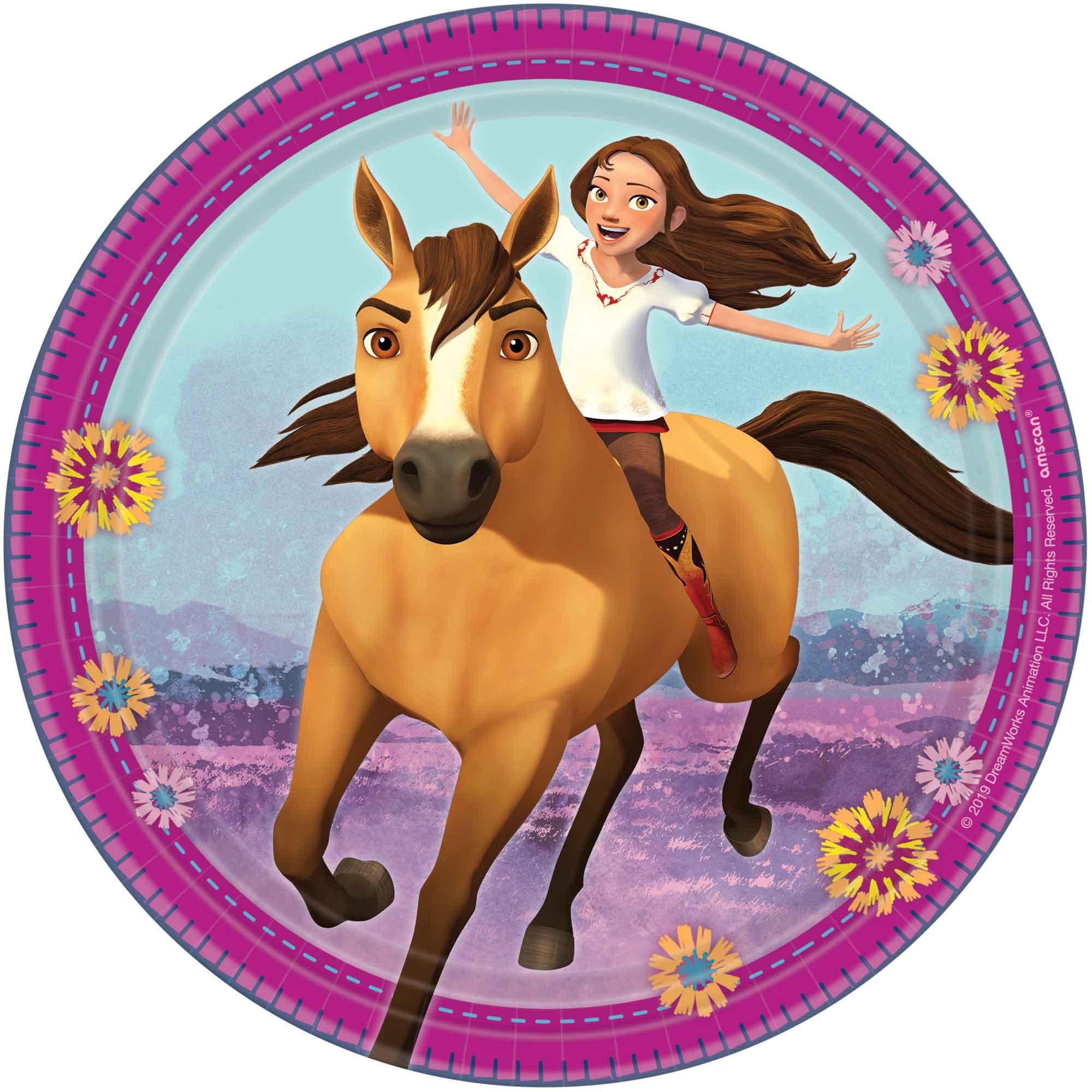 """Spirit Riding Free 7"""" / 17cm Paper Plates"