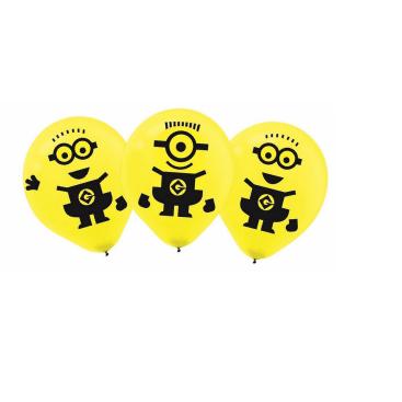 Despicable Me 30cm Latex Balloons