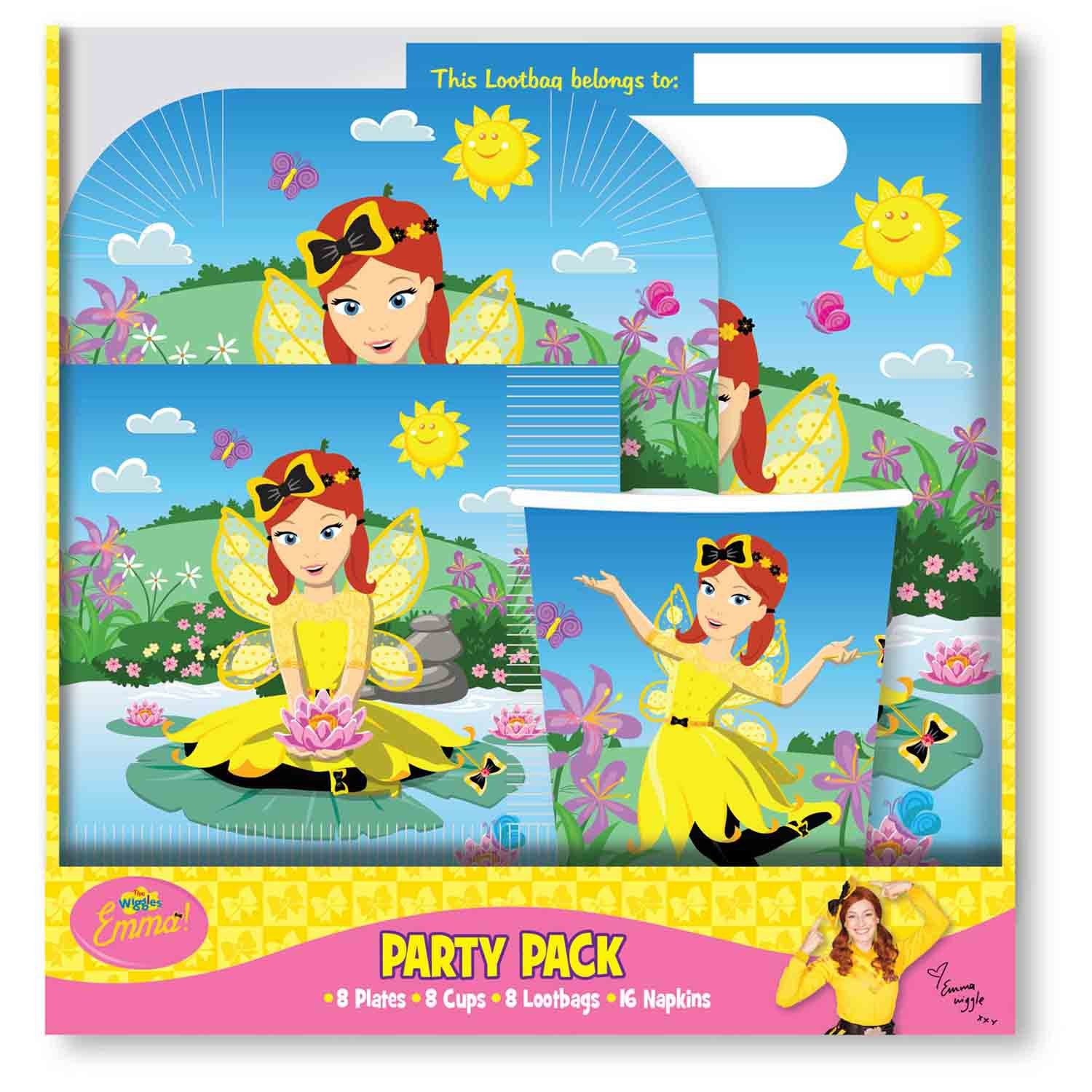 The Wiggles Emma Party Pack 40pc