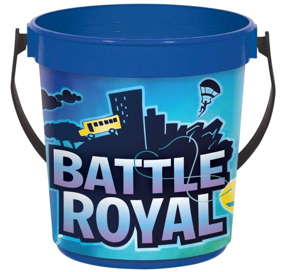 Battle Royal Plastic Favor Container