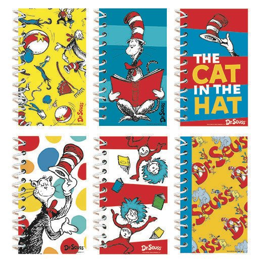 Dr.Seuss Notepad 12 Pack