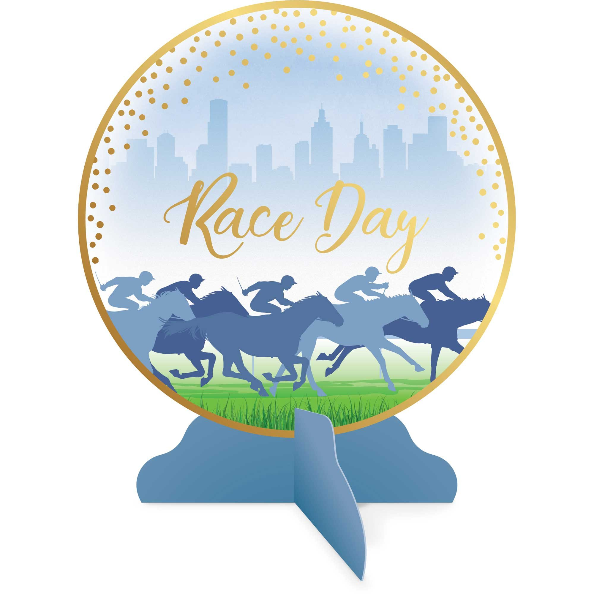 Race Day Hot Stamped Table Decorating Kit