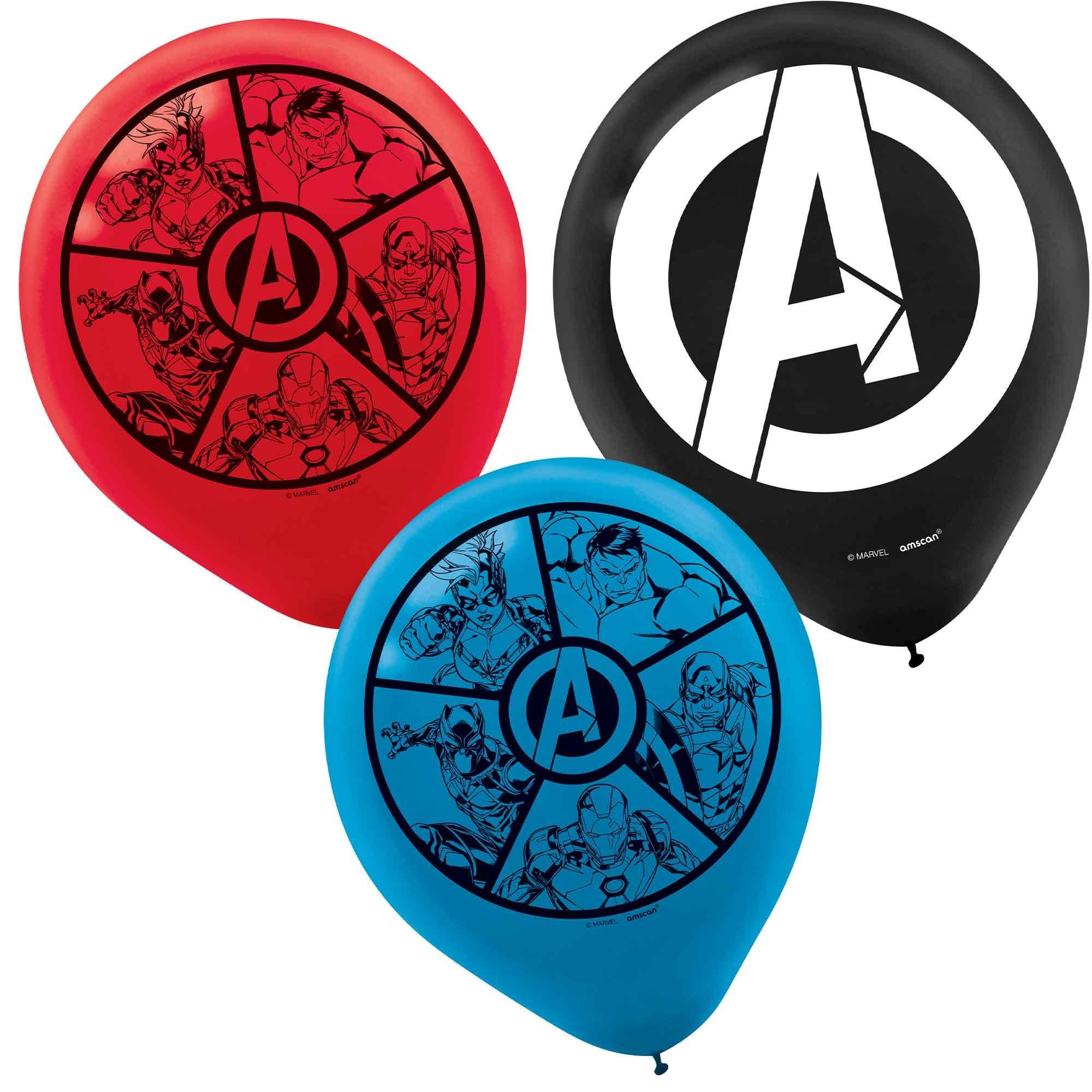 Marvel Avengers Powers Unite 30cm Latex Balloons