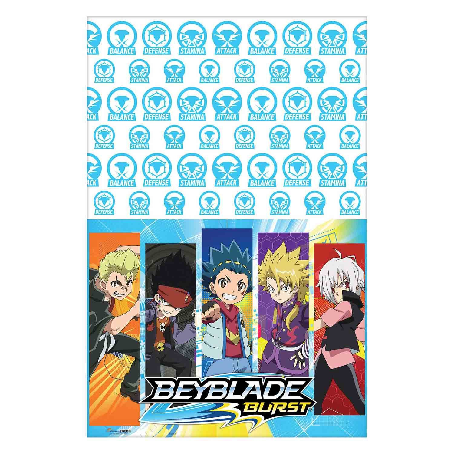 Beyblade Tablecover Plastic
