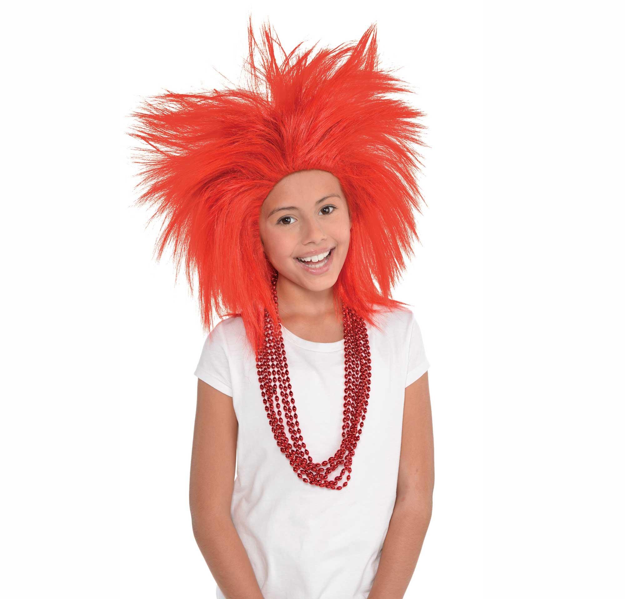 Crazy Wig - Red