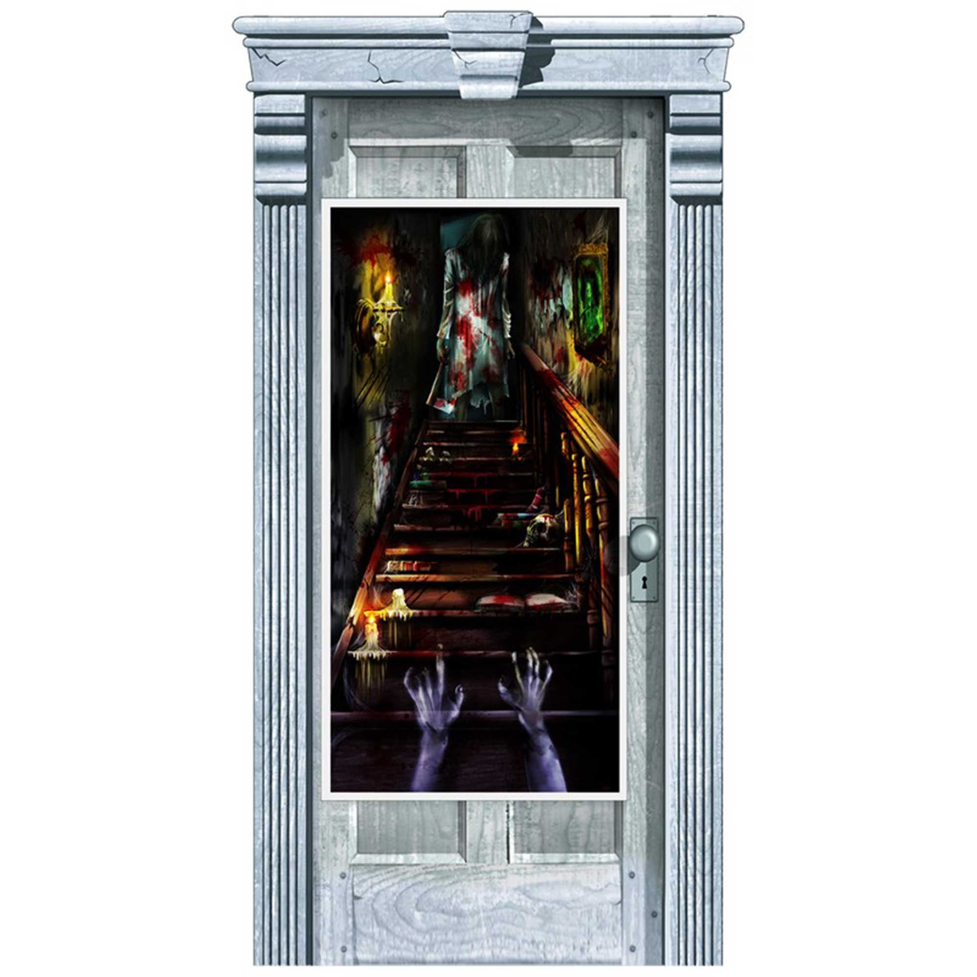 Haunted Mansion Door Decorations Plastic