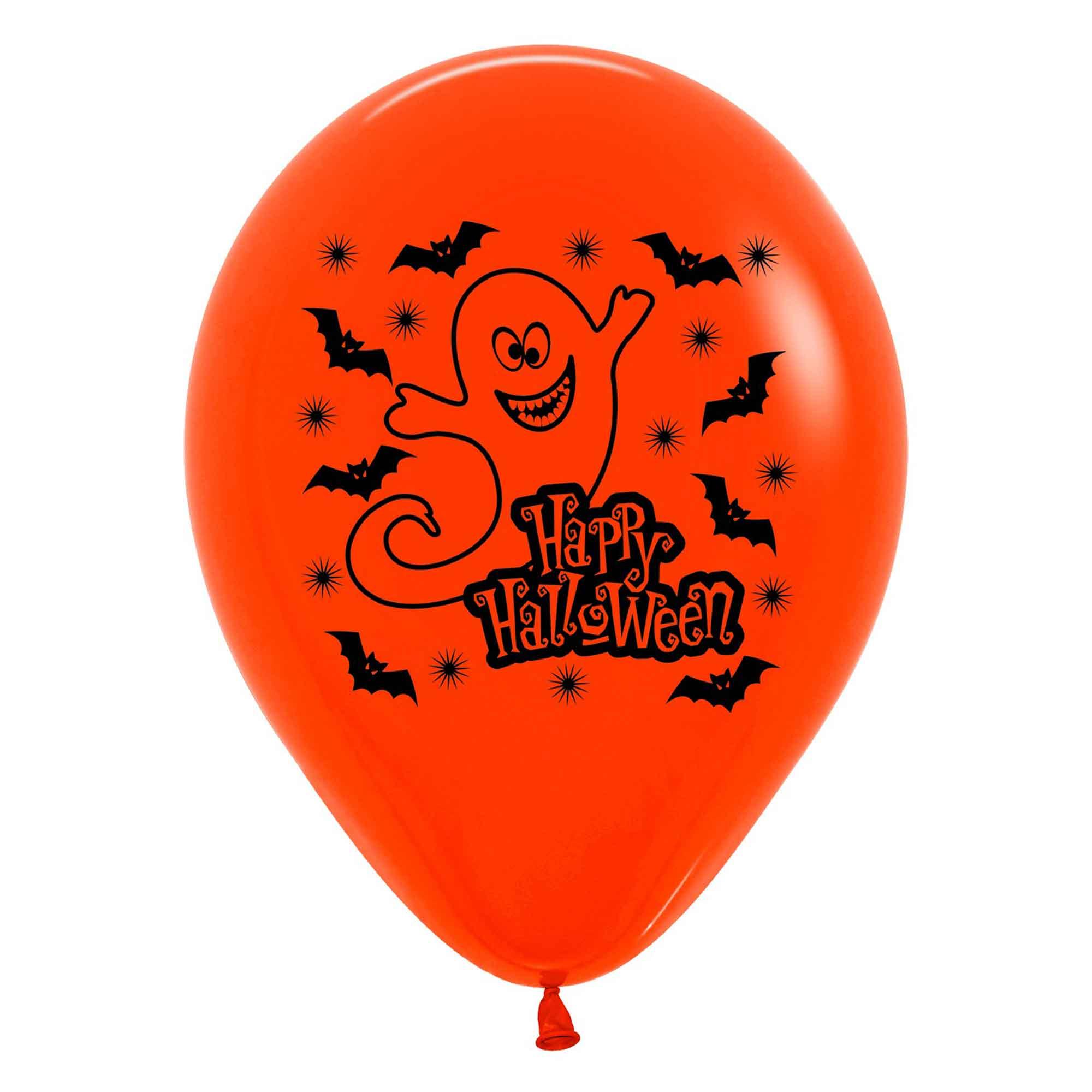 Sempertex 30cm Fashion Halloween Night Black/Orange