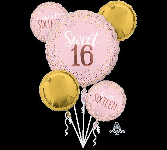 Bouquet Sweet Sixteen Blush Birthday P75