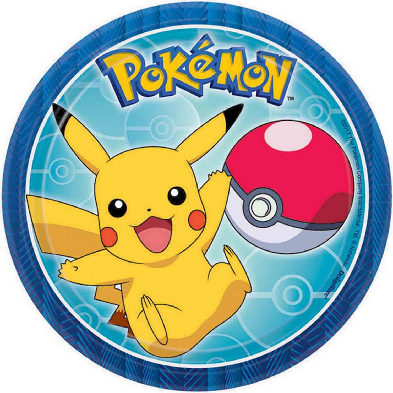 Pokemon Core 17cm Round Plate