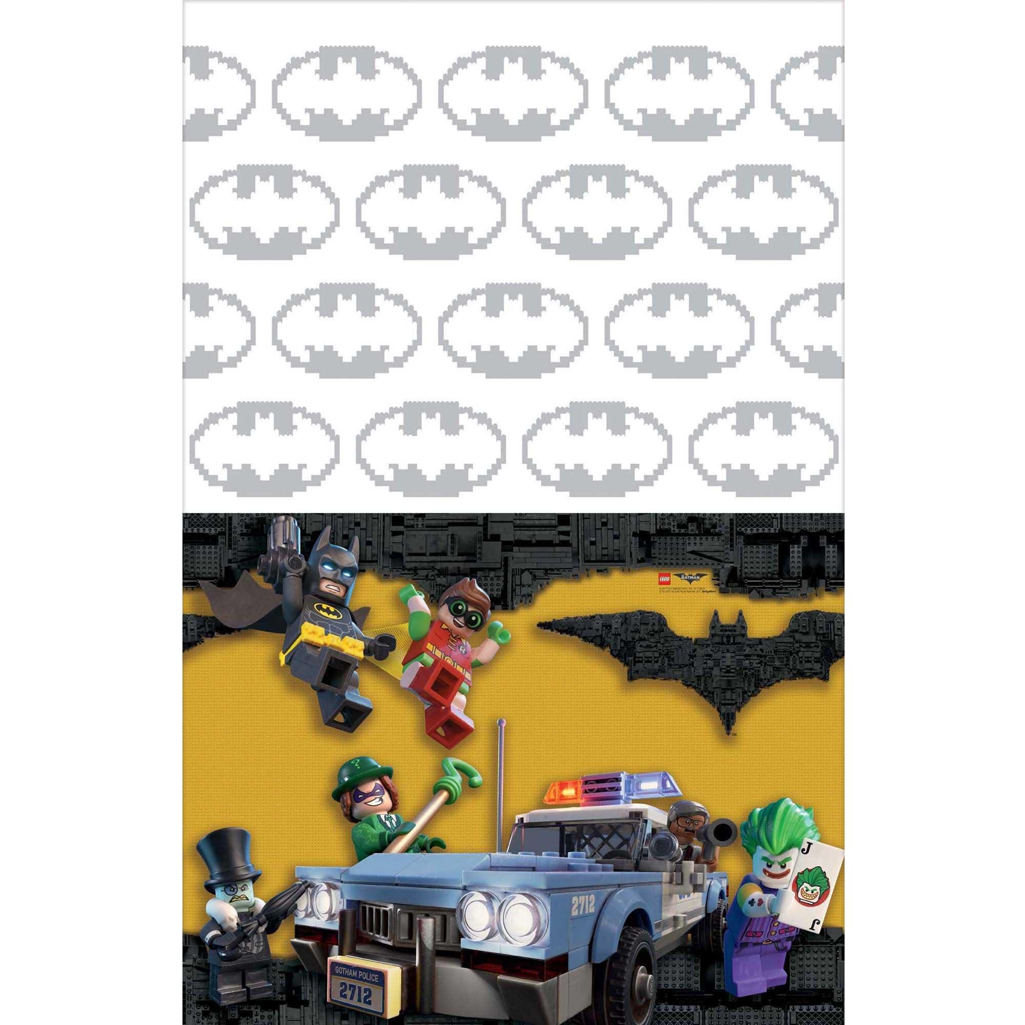 Batman Lego Plastic Tablecover