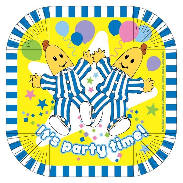 """""""Bananas in Pyjamas7""""""""/17cm Square Plates"""