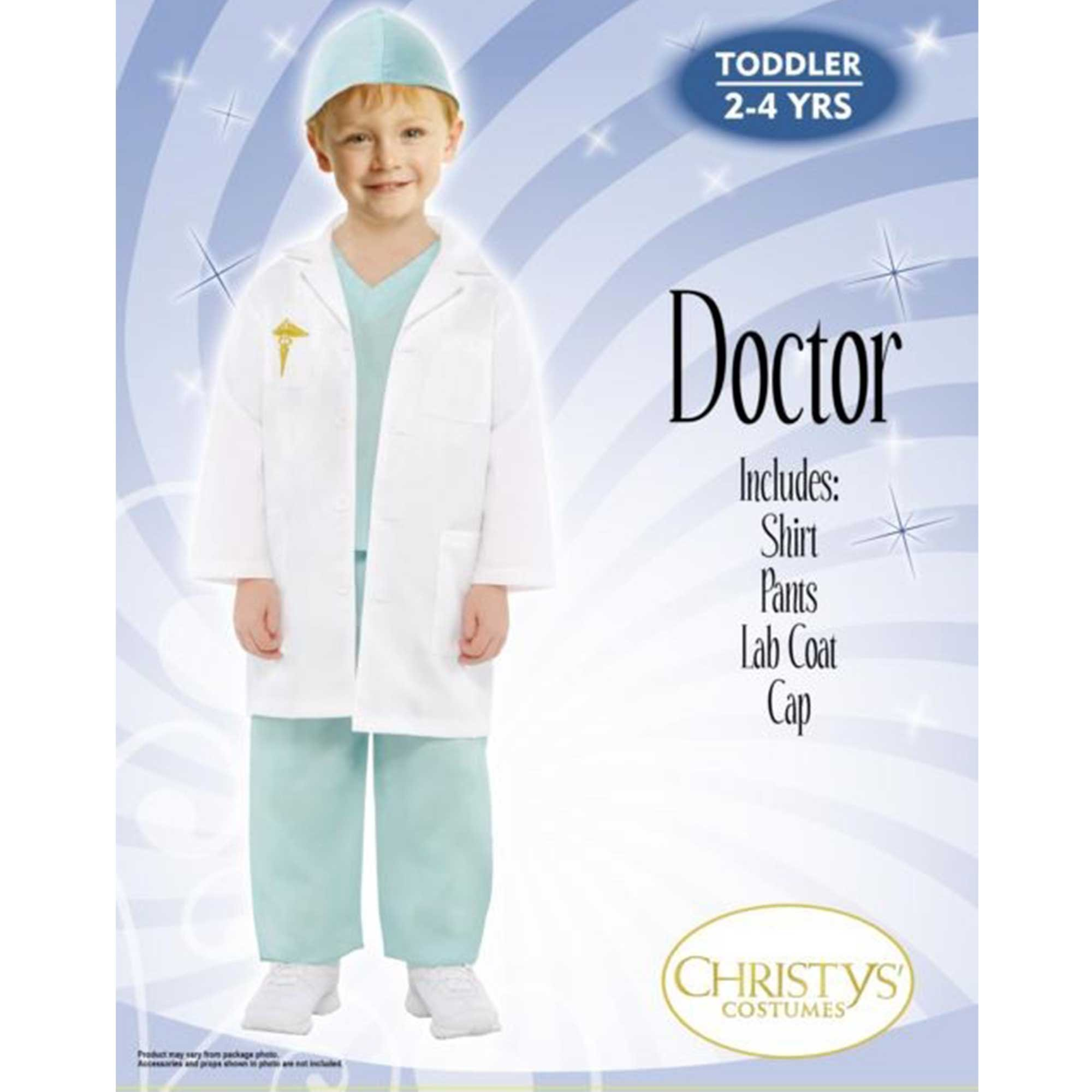 Costume Doctor Toddler 2-4 years