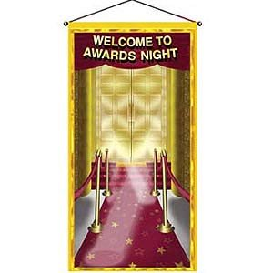 Door or Wall Hanging Panel Welcome to Awards Night