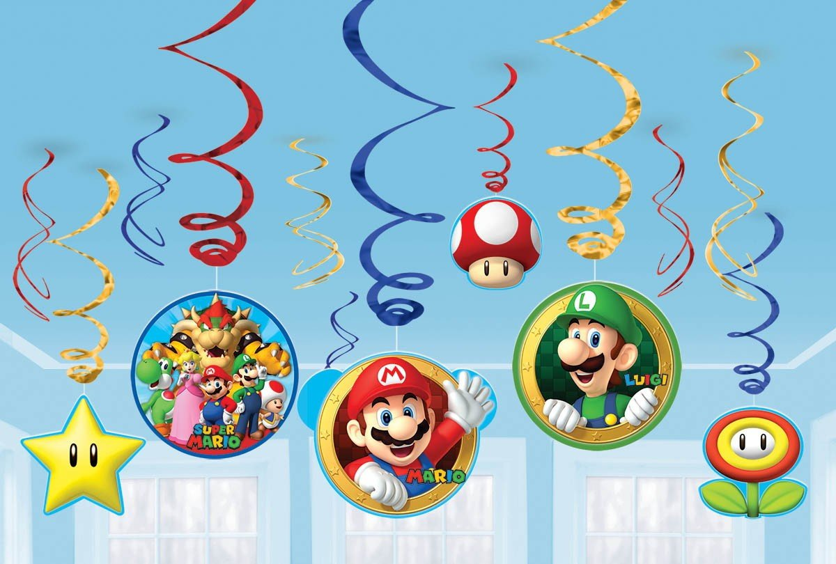 Super Mario Brothers Swirl Value Pack