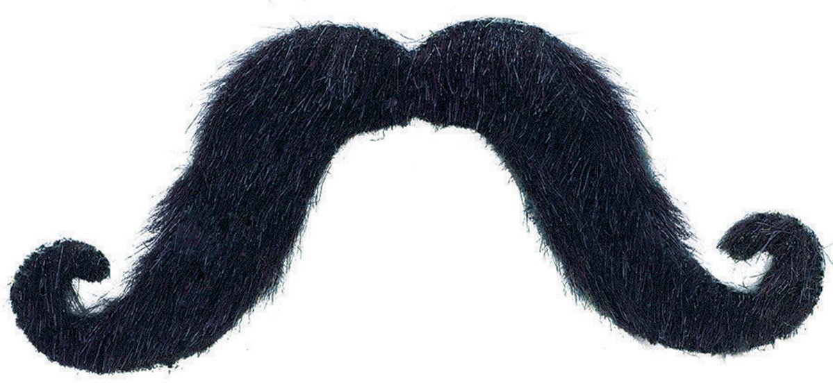 Moustache - Black