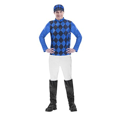 Melbourne Cup Mens Costume Large Non Licensed