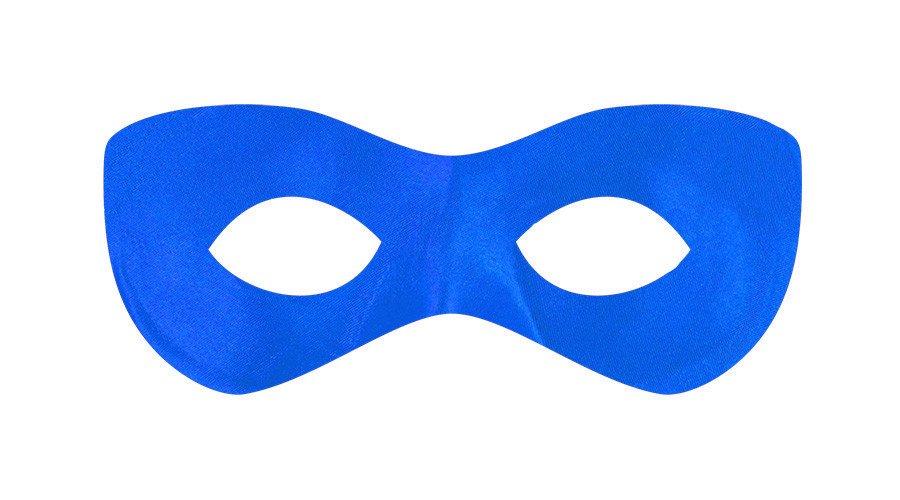 Super Hero Mask - Blue