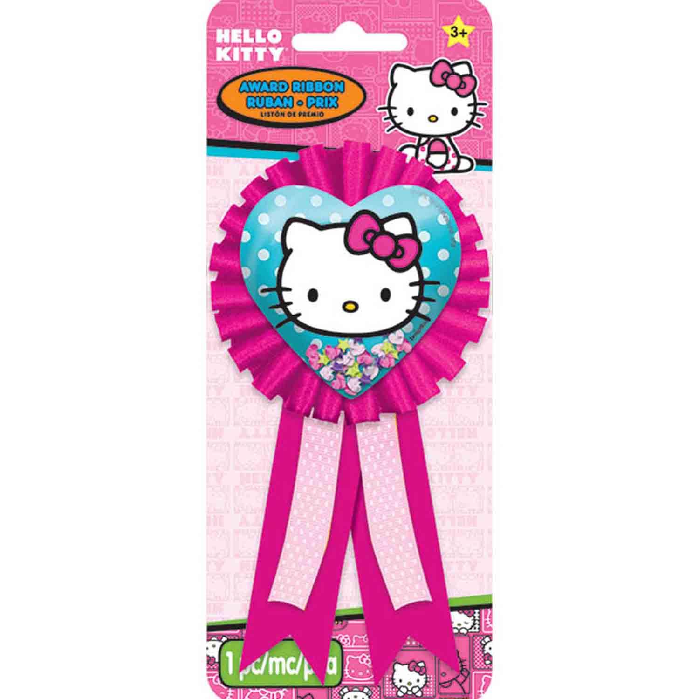 Hello Kitty Rainbow Award Ribbon