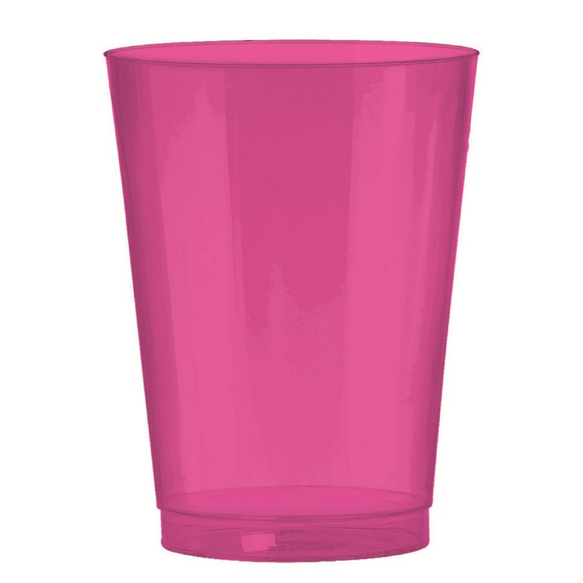 Big Party Pack 295ml Plastic Tumbler Bright pink