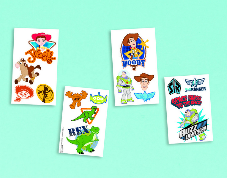 Toy Story 3 Tattoo Favors*