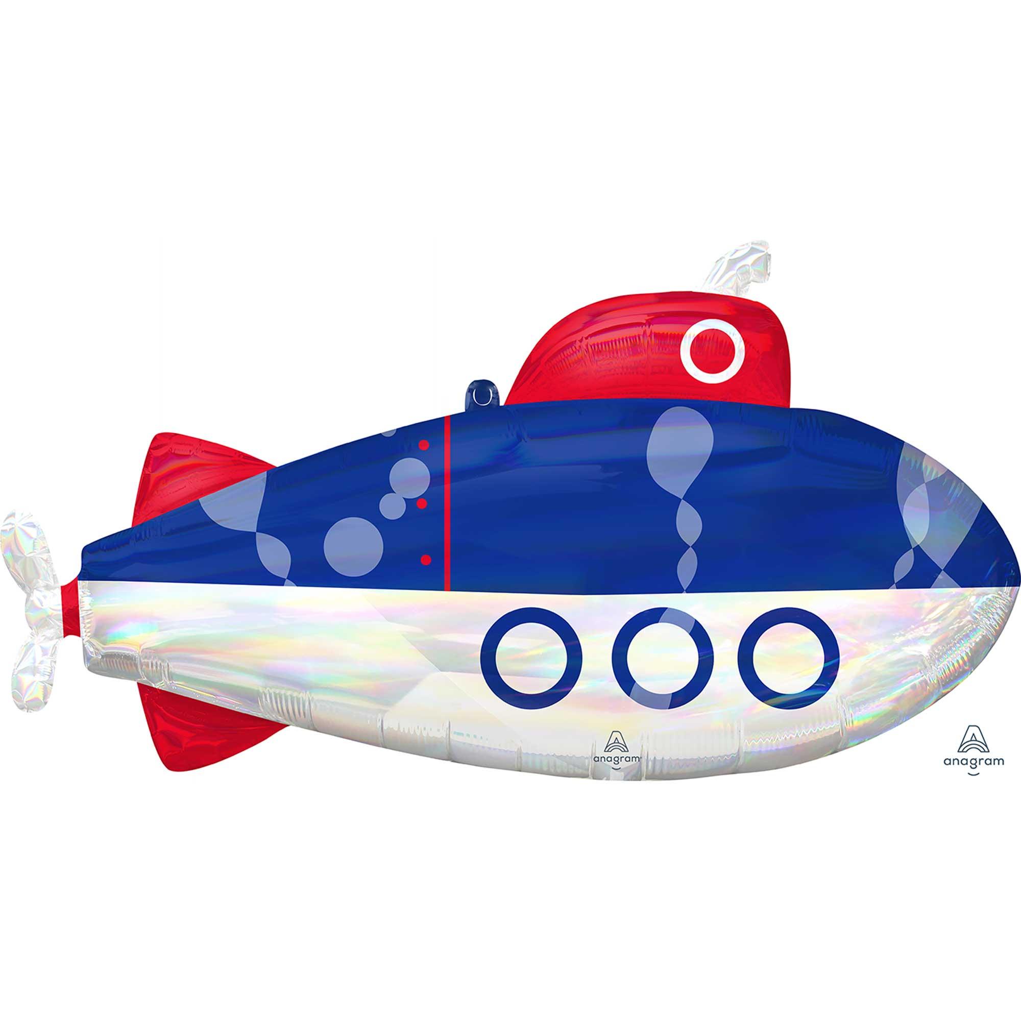 SuperShape Holographic Iridescent Submarine P40