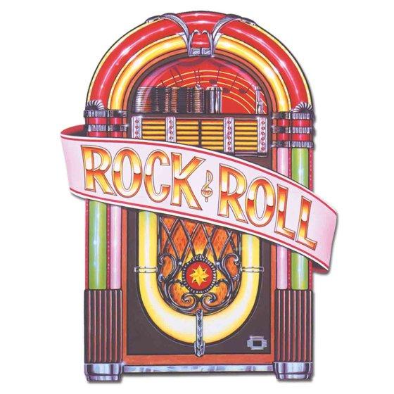 Rock & Roll Jukebox Cutout