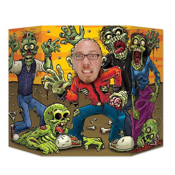 Zombies Photo Prop