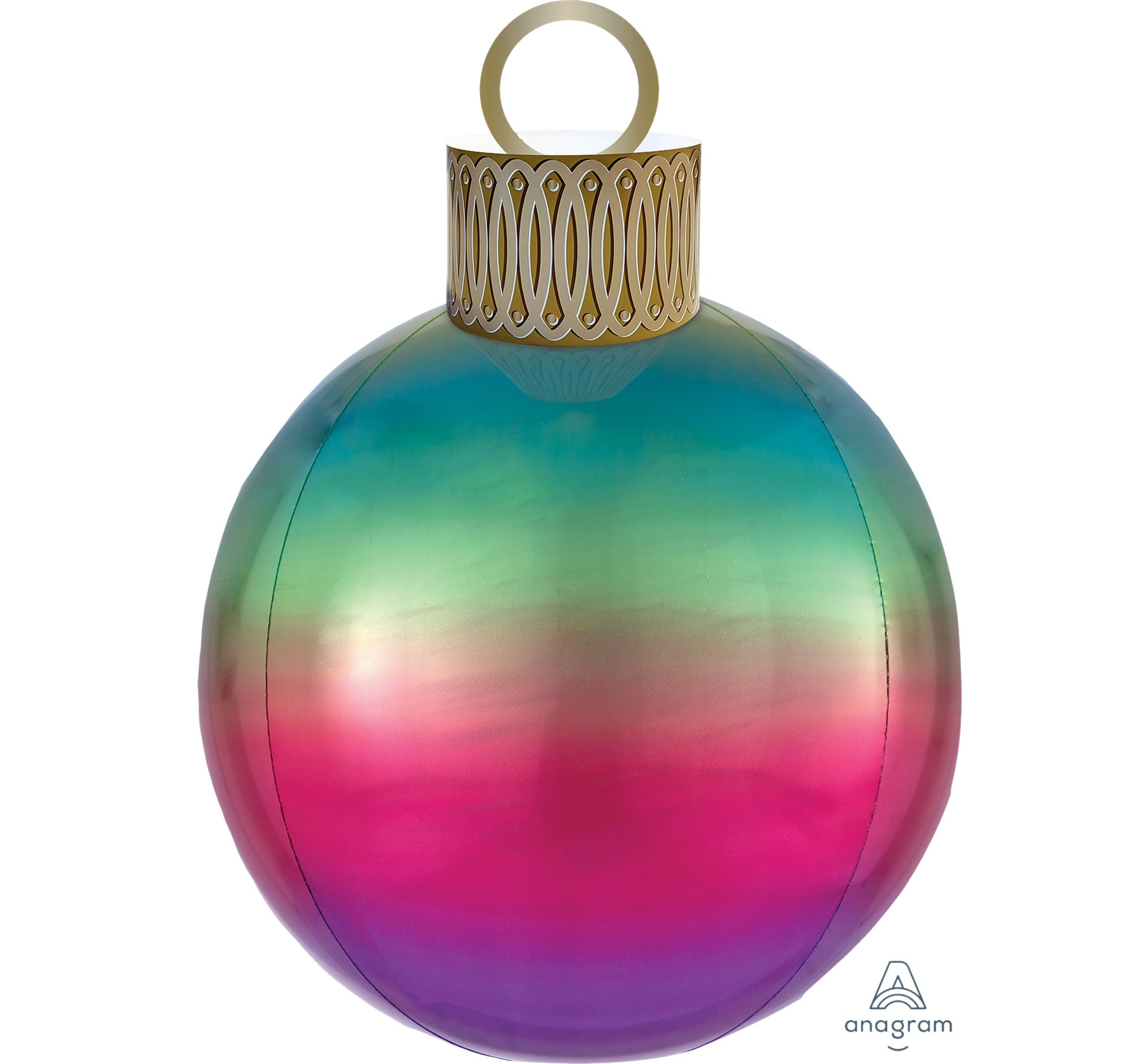 Ombre Rainbow Orbz & Ornament Kit P47