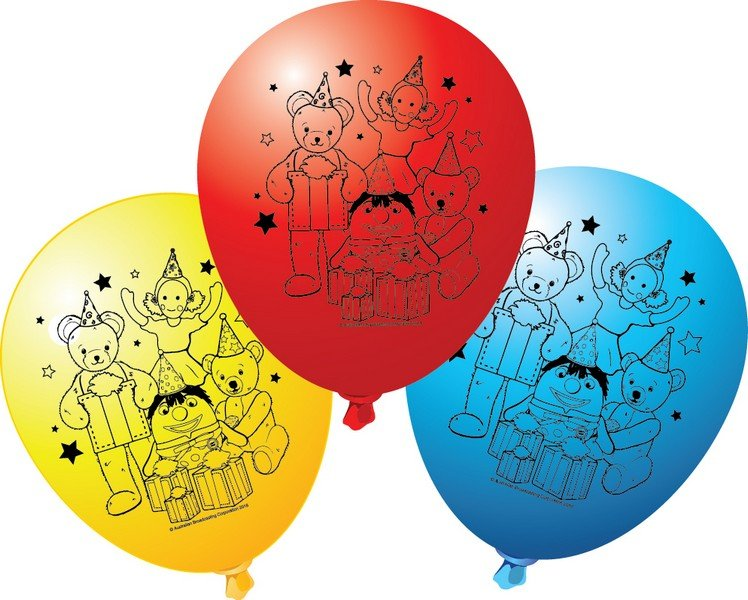 """Play School 12""""/30.4cm Latex Balloons"