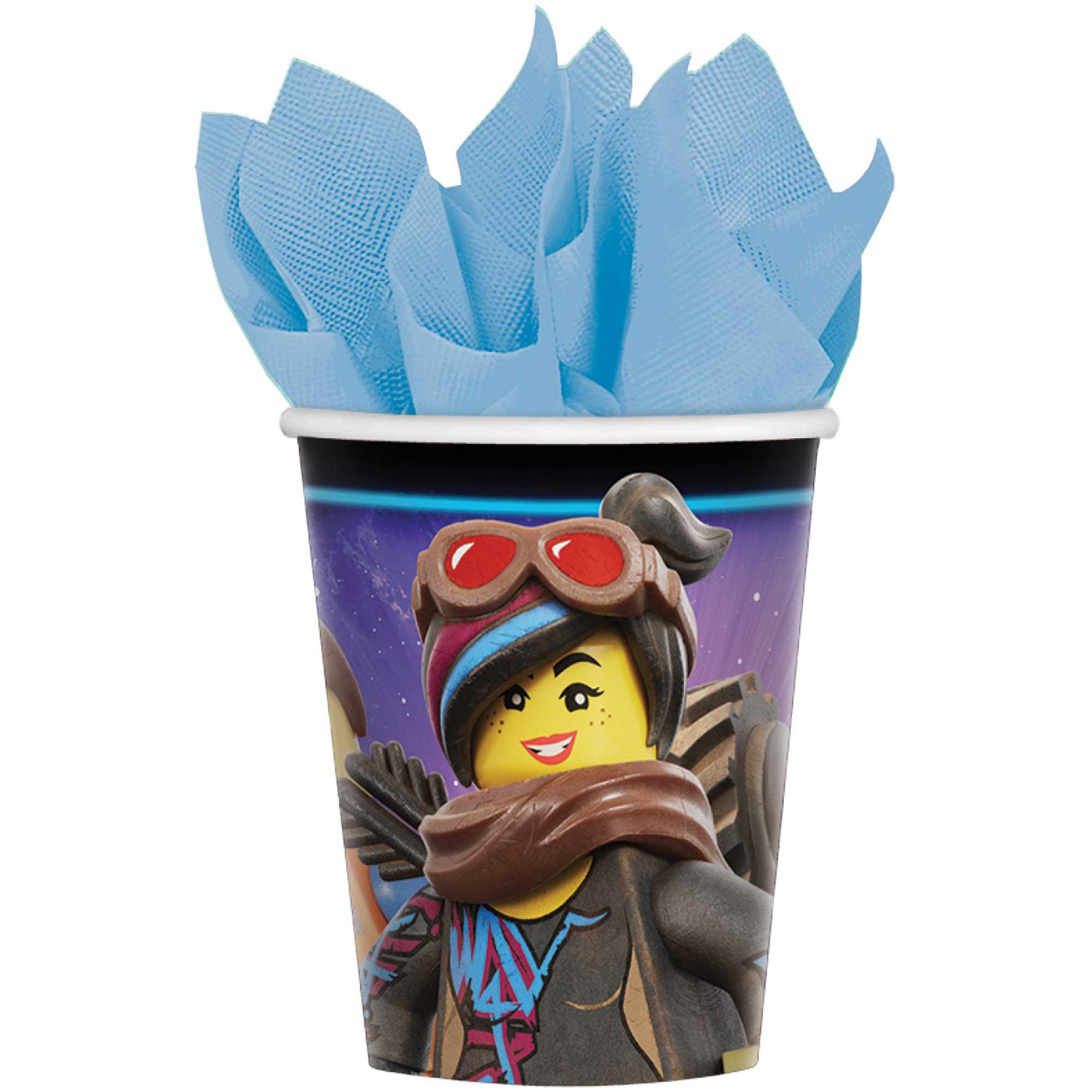 Lego Movie 2 9oz/266ml Cups