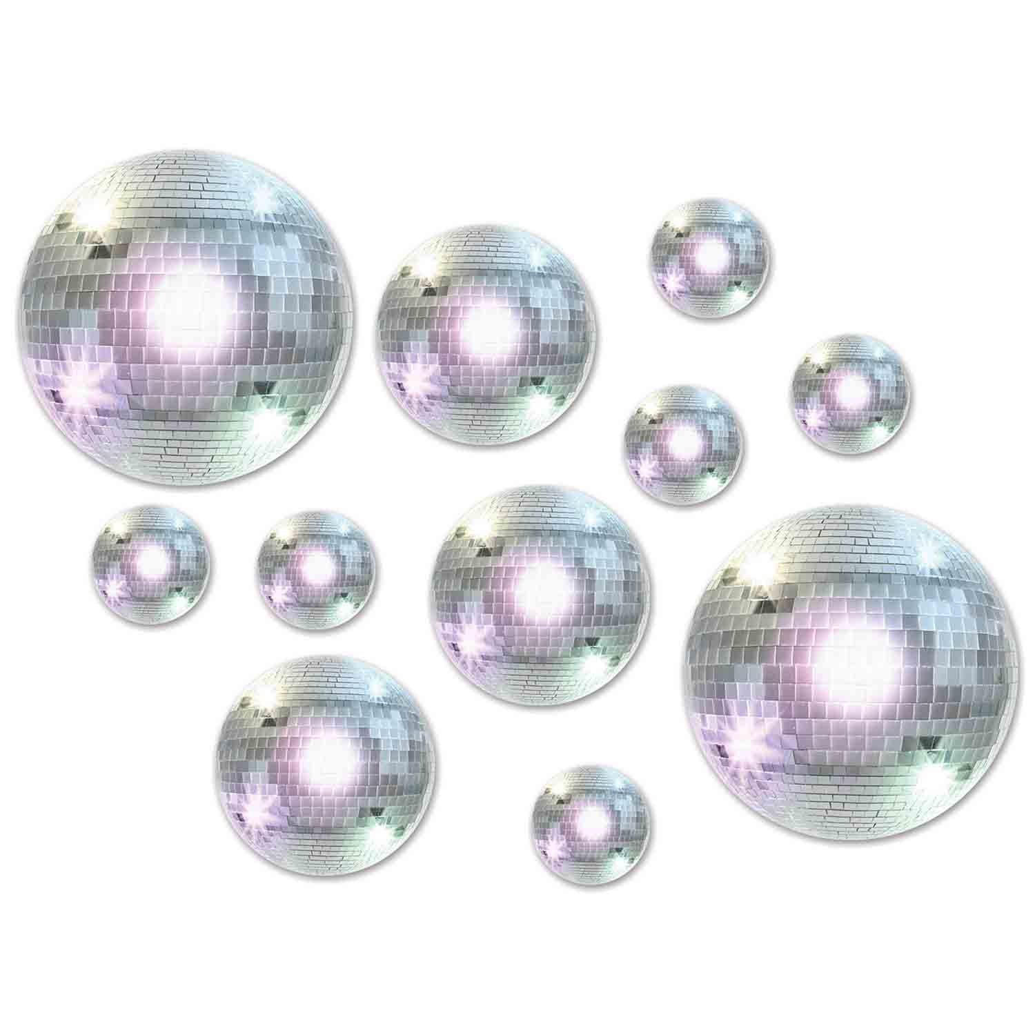 Disco Balls Cutouts