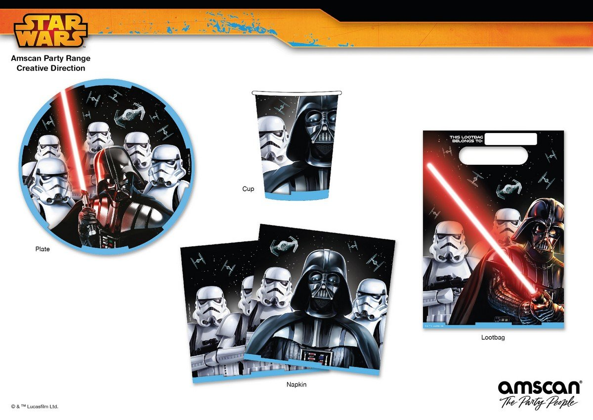 Star Wars Classic Party Pack 40pc