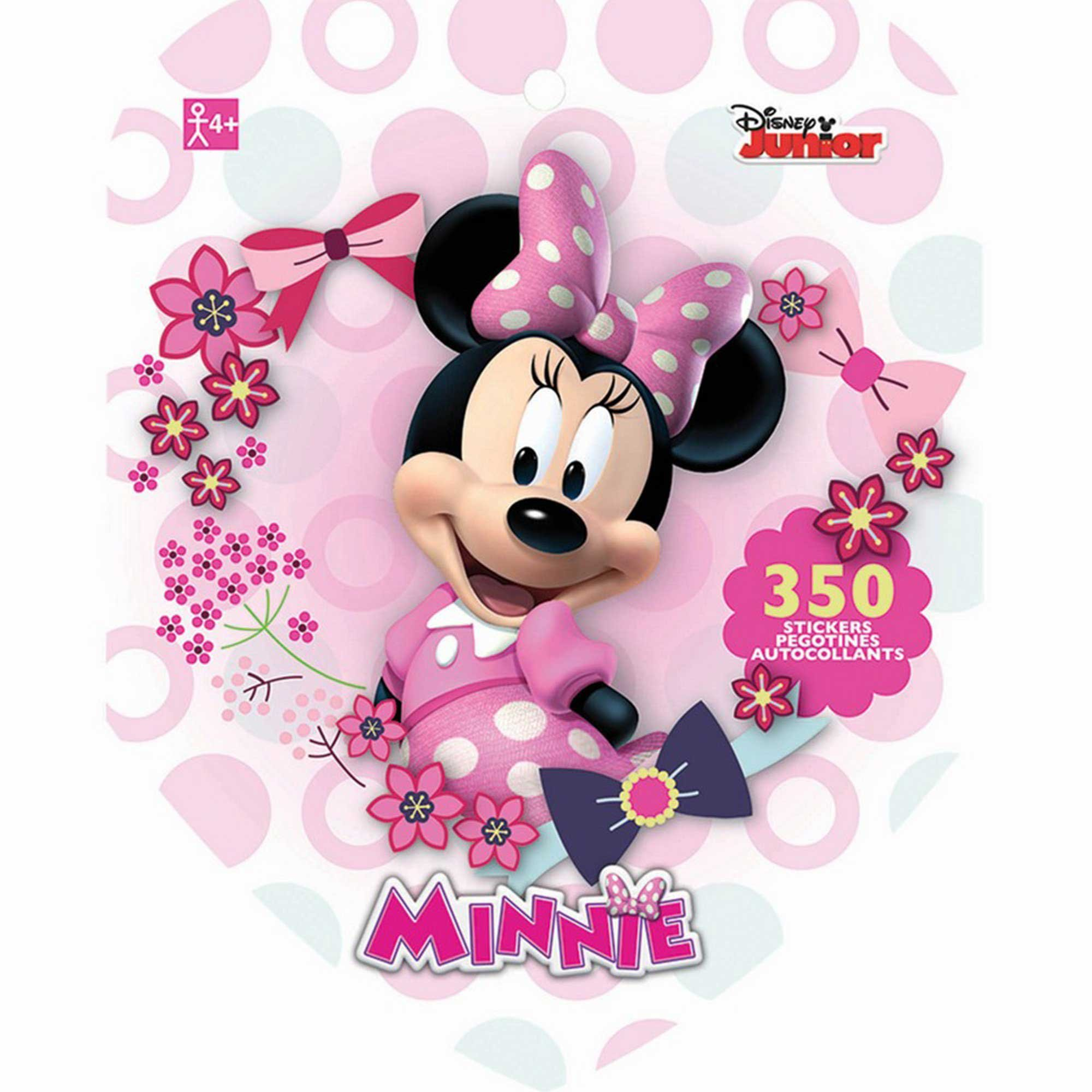 Sticker Book Minnie Mouse