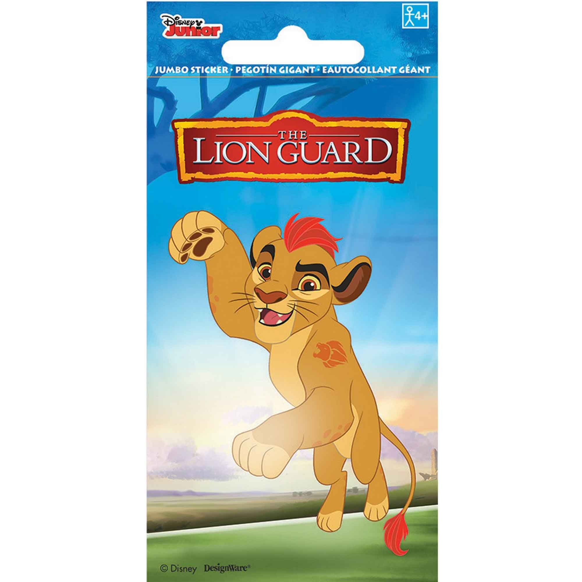 Stickers Jumbo Favor Disney Lion Guard