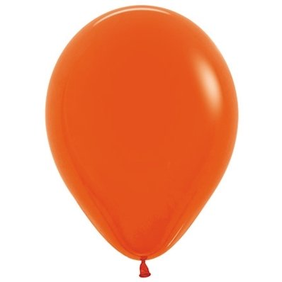 Sempertex 30cm Fashion Orange Latex Balloons 061, 100PK