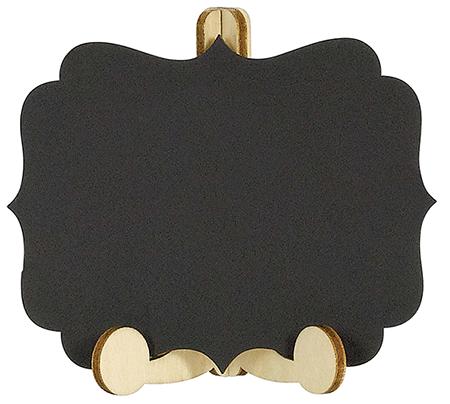 Chalkboard Mini Wooden Easels