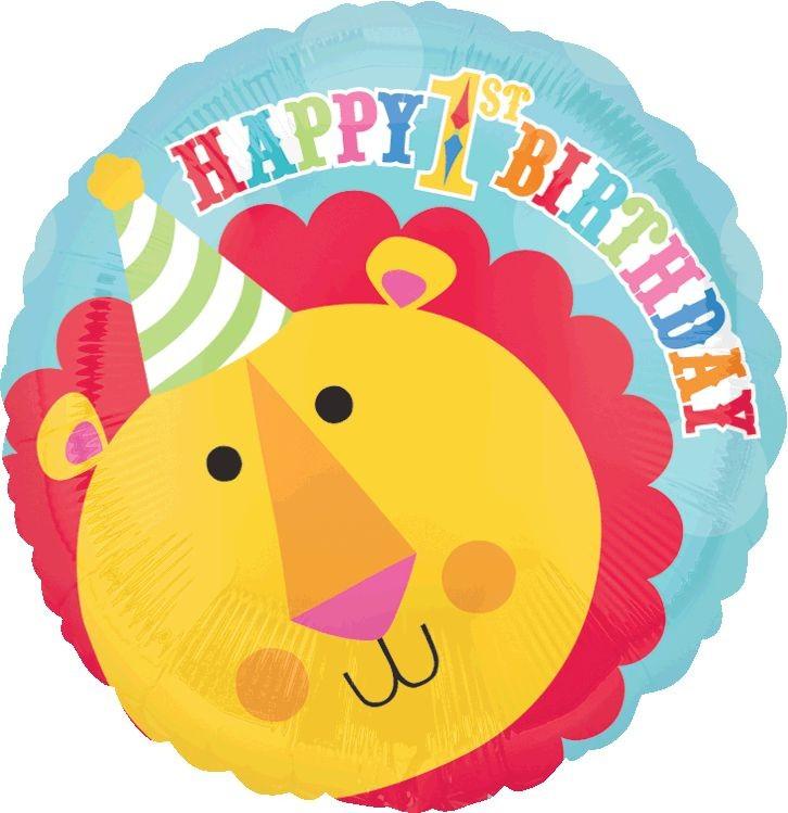 45cm Standard HX Fisher Price Lion 1st Birthday Circus S50