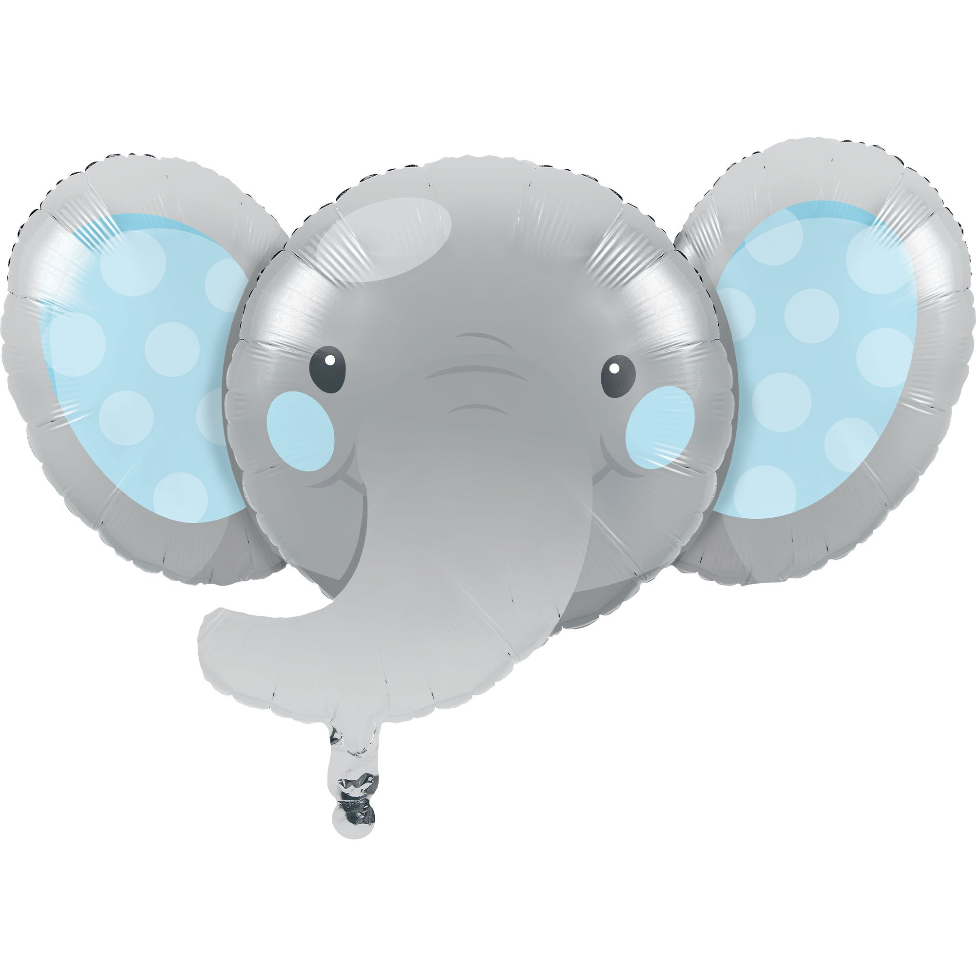 Enchanting Elephant Boy Shape 53cm x 89cm Foil Balloon