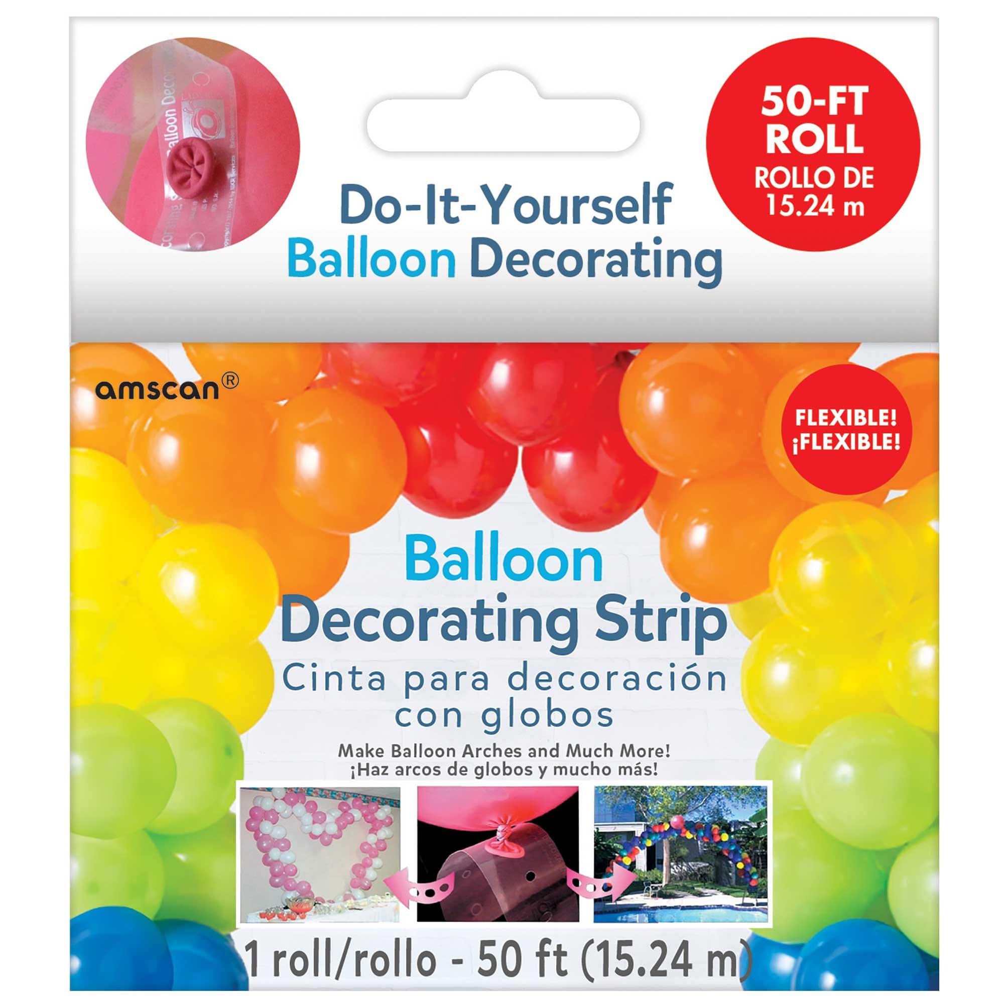 Balloon Arch Decorating Strip - 50FT / 15.2m