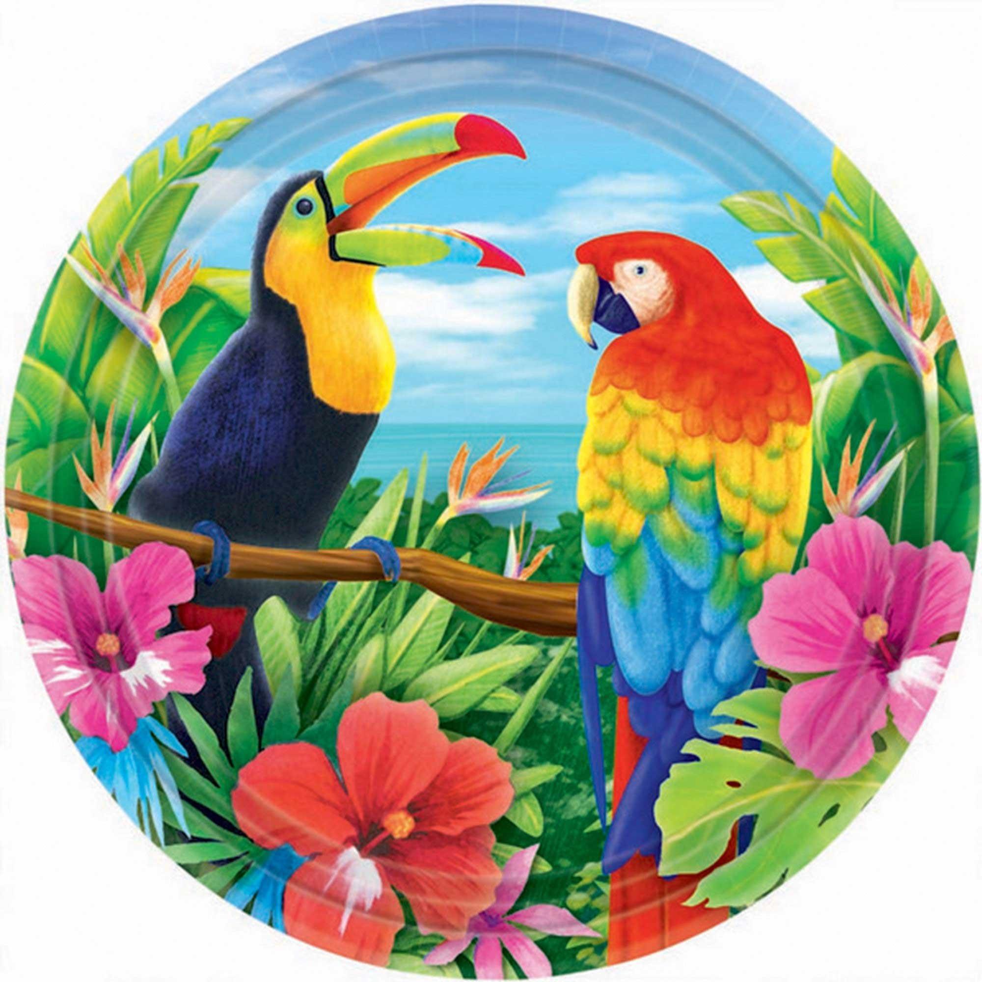Hawaiian Tropic 27cm Round Plates