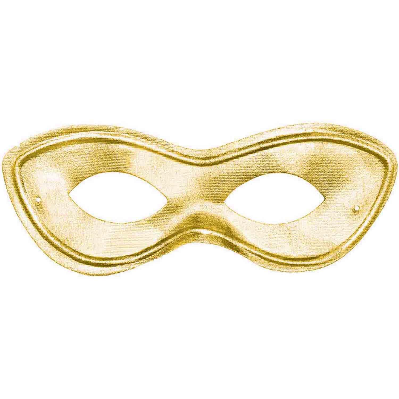 Super Hero Mask - Gold