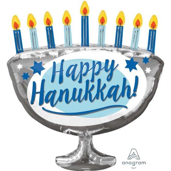 SuperShape XL Happy Hanukkah Menorah P30