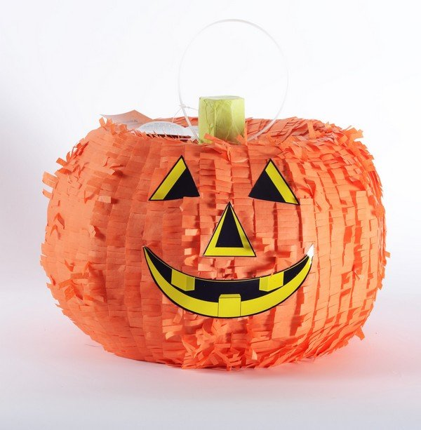 Pumpkin Shaped Pinata