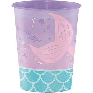 Mermaid Shine Iridescent Keepsake Souvenir Favor Cup