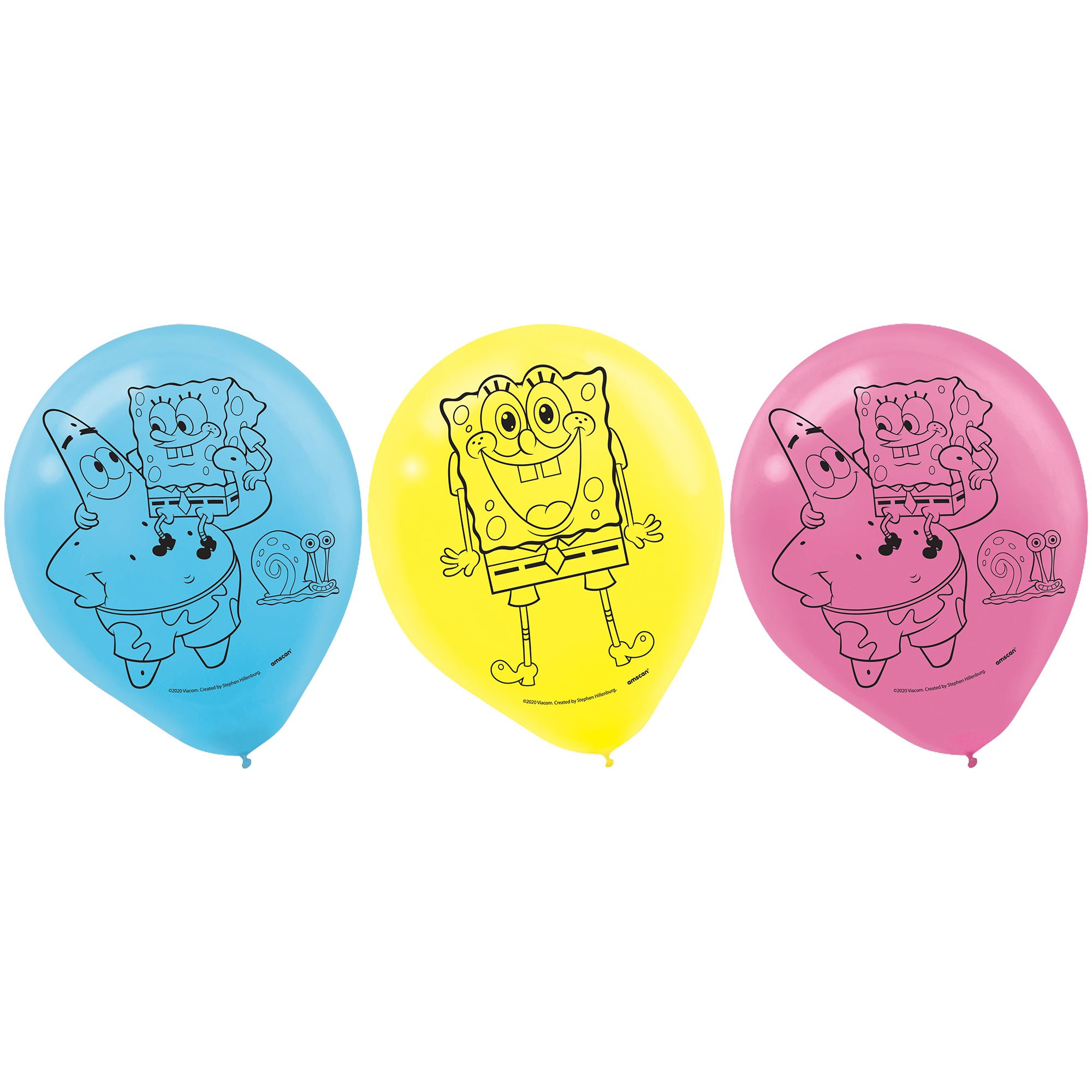 SpongeBob 30cm Latex Balloons