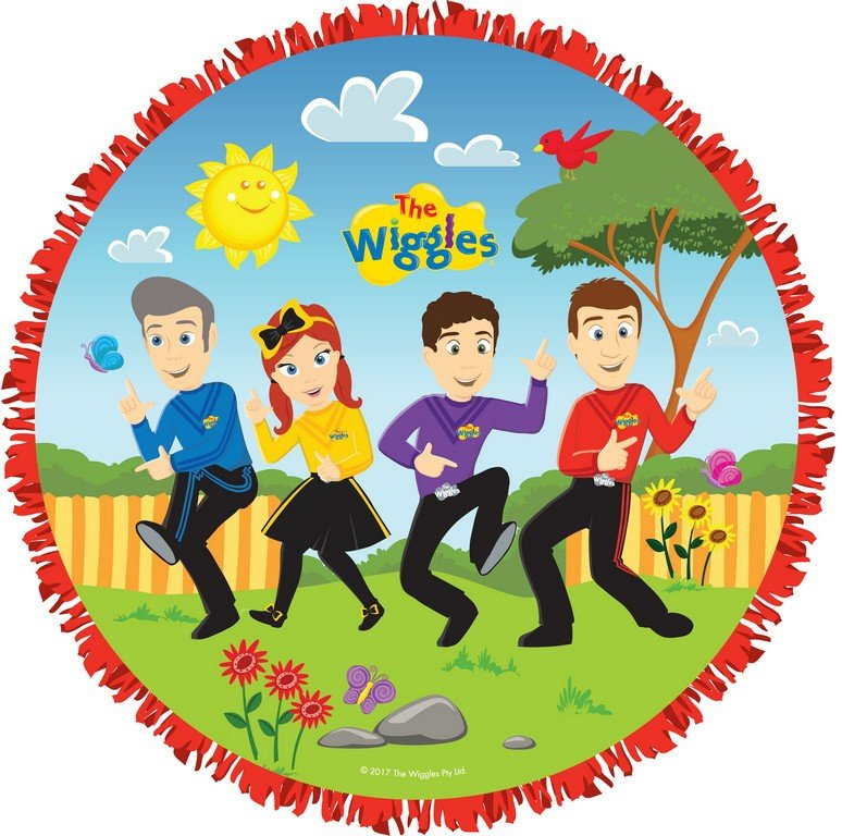 The Wiggles Expandable Pull String Drum Pinata