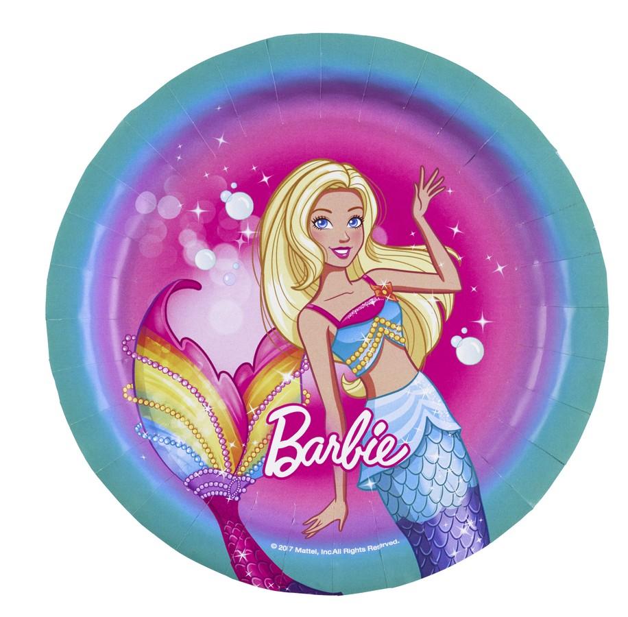 Barbie Dreamtopia 17cm Round Plate