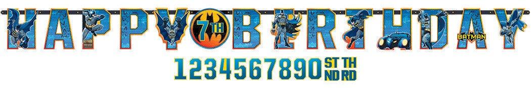 Batman Jumbo Add-An-Age Banner